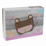 CF207 My First Sewing Kit: Felt Teddy Bear Cushion